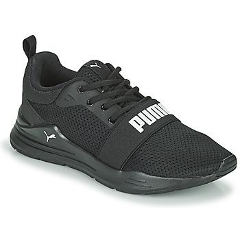 Sko Dreng Lave sneakers Puma WIRED JR Sort