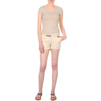 textil Dame Shorts Franklin & Marshall MACQUARIE Beige