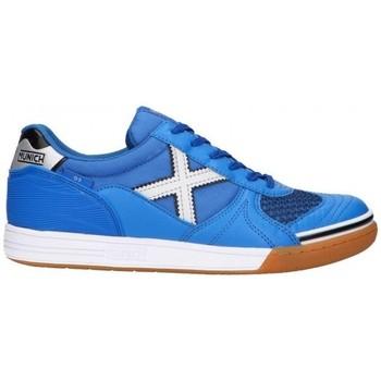 Sko Herre Lave sneakers Munich G-3 INDOOR 3111136 Blå