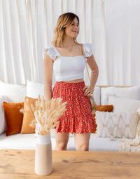 textil Dame Toppe / Bluser Céleste CAPUCINE Hvid
