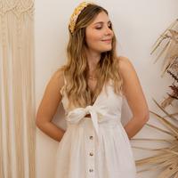 textil Dame Lange kjoler Céleste CAMOMILLE Hvid