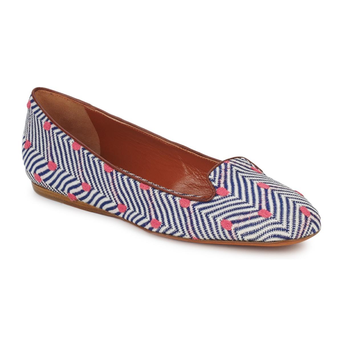 loafers Missoni VM036 Blå / Pink