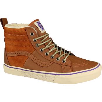 Sko Dame Høje sneakers Vans SK8-Hi 46 MTE Brun