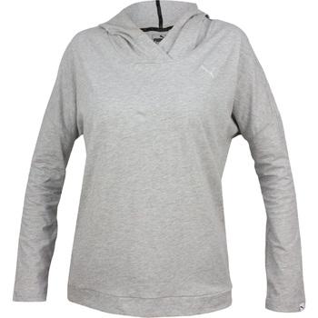 Sweatshirts Puma  Ess Hooded Cover Up W
