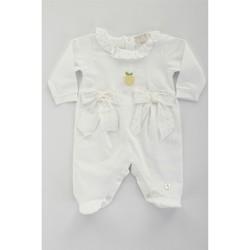 textil Pige Træningsdragter Lalalu TBL07E Bianco