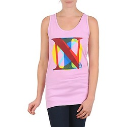 textil Dame Toppe / T-shirts uden ærmer Nixon PACIFIC TANK Pink / Flerfarvet