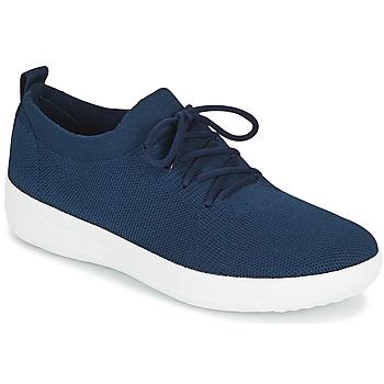 Sko Dame Lave sneakers FitFlop F-SPORTY UBERKNIT SNEAKERS Marineblå