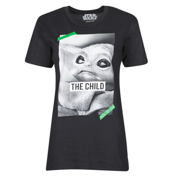 textil T-shirts m. korte ærmer Yurban OUFIMM Sort