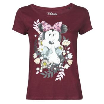 textil Dame T-shirts m. korte ærmer Yurban OHJAVE Bordeaux