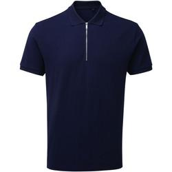 textil Herre Polo-t-shirts m. korte ærmer Asquith & Fox AQ013 Navy
