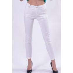 textil Dame Chinos / Gulerodsbukser Fracomina FR21SP3004W40101 hvid