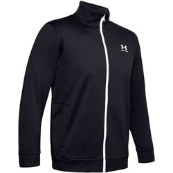 textil Herre Sweatshirts Under Armour Sportstyle Tricot Jacket 1329293-002 Sort