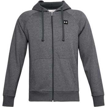 textil Herre Sweatshirts Under Armour Rival Fleece FZ Hoodie 1357111-012 Grå