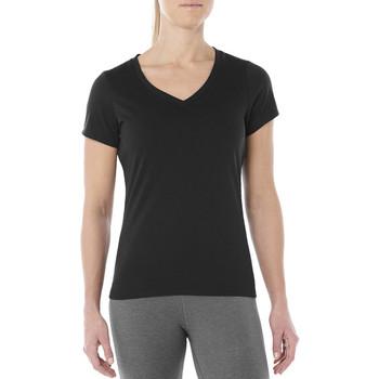 textil Dame T-shirts m. korte ærmer Asics Esnt SS Top Hex Tee noir