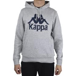 textil Herre Sweatshirts Kappa Taino Hooded Grå