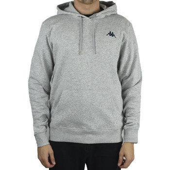 textil Herre Sweatshirts Kappa Vend Hooded Grå