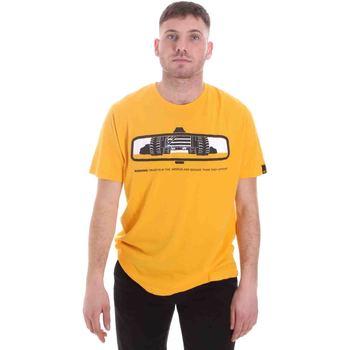 textil Herre T-shirts m. korte ærmer Caterpillar 35CC2510234 Gul