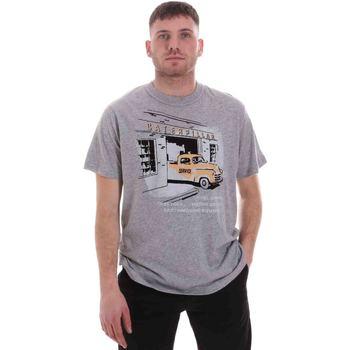 textil Herre T-shirts m. korte ærmer Caterpillar 35CC2510217 Grå