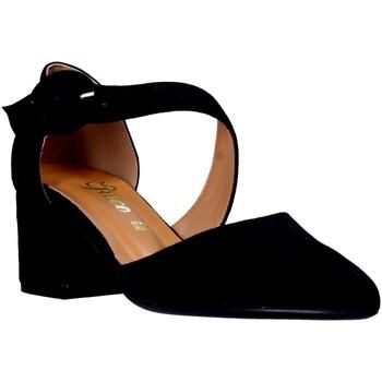 Sko Dame Højhælede sko Grace Shoes 774125 Sort