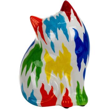 Indretning Små statuer og figurer Signes Grimalt Cat Piggy Bank Azul