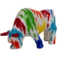 Indretning Små statuer og figurer Signes Grimalt Bull Piggy Bank Azul