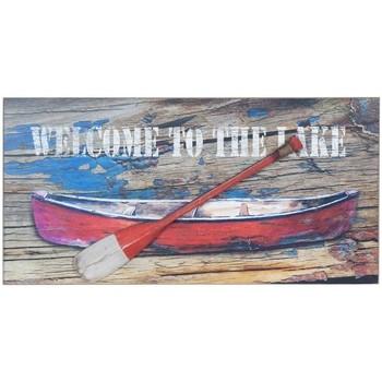 Indretning Malerier og lærreder Signes Grimalt Boat Wall Plate With Oar Multicolor