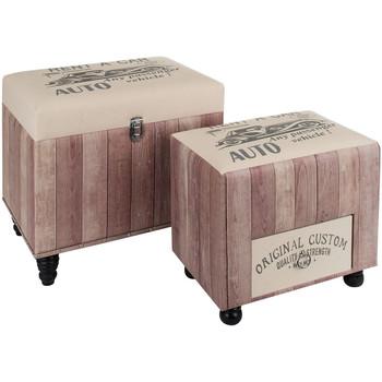 Indretning Kufferter og opbevaringskister Signes Grimalt Opbevaringssæt 2U Rosa