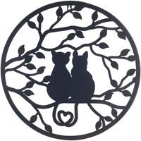 Indretning Malerier og lærreder Signes Grimalt Ornament Negro