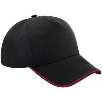 Accessories Kasketter Beechfield B25C Black/Classic Red