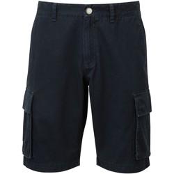 textil Herre Shorts Asquith & Fox AQ054 Navy