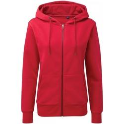 textil Dame Sweatshirts Asquith & Fox AQ081 Cherry Red