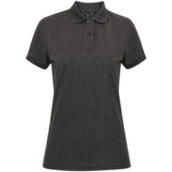 textil Dame Polo-t-shirts m. korte ærmer Asquith & Fox AQ025 Charcoal