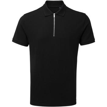 textil Herre Polo-t-shirts m. korte ærmer Asquith & Fox AQ013 Black