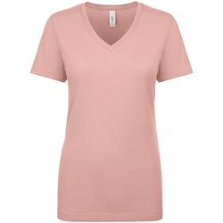 textil Dame T-shirts m. korte ærmer Next Level NX1540 Desert Pink