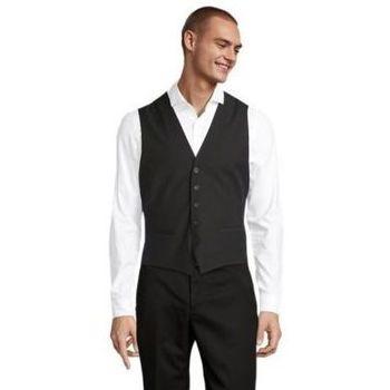 textil Herre Habit vest Sols MAX MEN Negro profundo