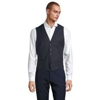 textil Herre Habit vest Sols MAX MEN Negro noche