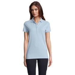 textil Dame Polo-t-shirts m. korte ærmer Sols OWEN WOME Azul claro