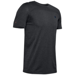 textil Herre T-shirts m. korte ærmer Under Armour Rush Seamless Fitted SS Tee Sort