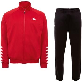 textil Herre Træningsdragter Kappa Till Training Suit 303307-19-1663 Rød