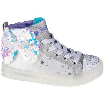 Sko Børn Lave sneakers Skechers Shuffle Brights 2.0 Hvid