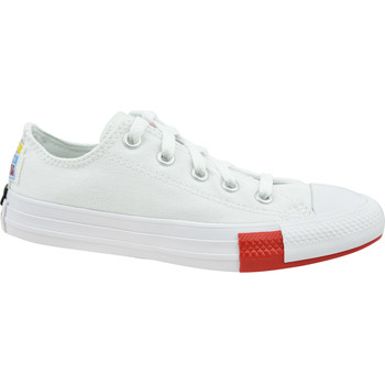 Sko Børn Lave sneakers Converse Chuck Taylor All Star Jr blanc