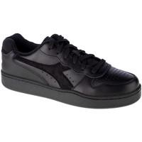 Sko Herre Lave sneakers Diadora Mi Basket Low Sort