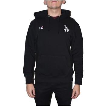 textil Herre Sweatshirts 47 Brand MLB Los Angeles Dodgers Hoodie Sort
