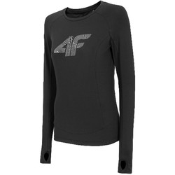 textil Dame Langærmede T-shirts 4F Women's Functional Longsleeve Sort