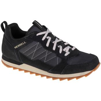 Sko Herre Løbesko Merrell Alpine Sneaker Sort