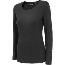 textil Dame Langærmede T-shirts 4F Women's Longsleeve Sort
