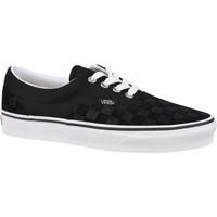 Sko Lave sneakers Vans Era Deboss Checkerboard Sort