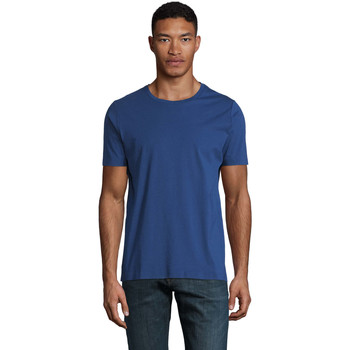 textil Herre T-shirts m. korte ærmer Sols LUCAS MEN Azul oscuro