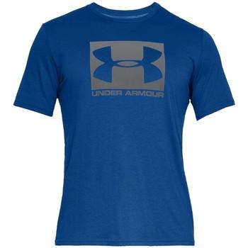 textil Herre T-shirts m. korte ærmer Under Armour Boxed Sportstyle SS Tee Blå