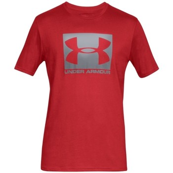 textil Herre T-shirts m. korte ærmer Under Armour Boxed Sportstyle SS Tee Rød